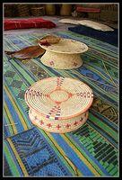 Изделия из пальмовых листьев - рядм с национальным парком Эйн геди